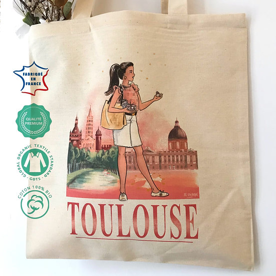 Totebag de Toulouse