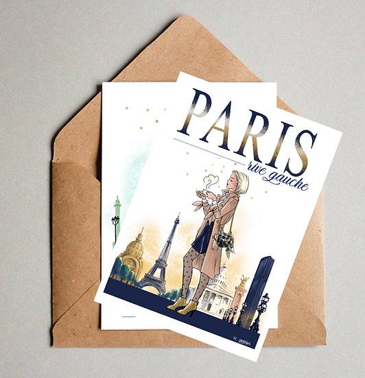 Cartes Paris Rive Droite & Rive Gauche