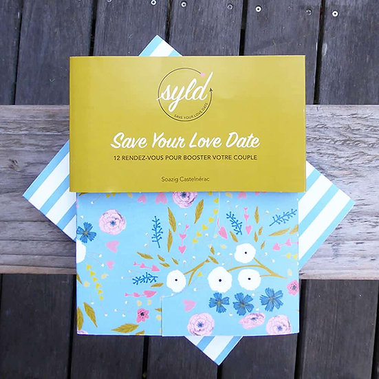 Carnets Save Your Love Date