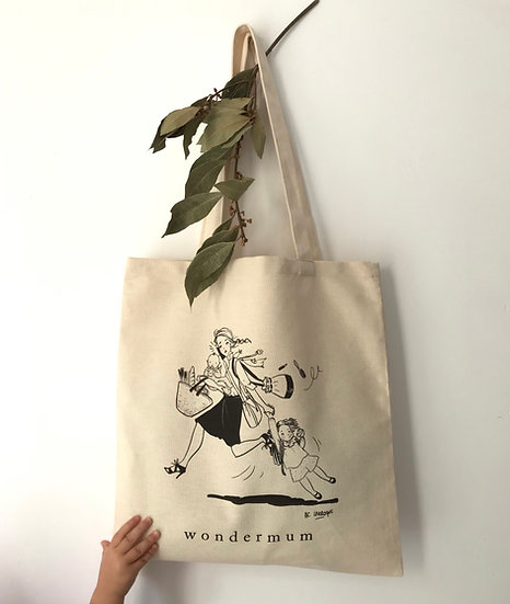Tote-bag de la Wondermum