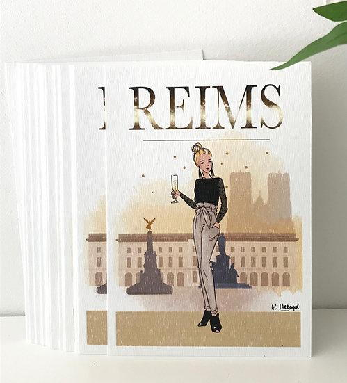 Carte de Reims