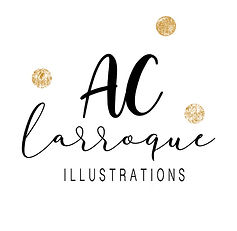 Logo AC Larroque Illustrations