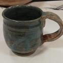 Wheel thrown mug
