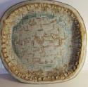 Stoneware platter