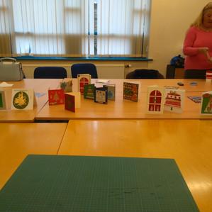 Creative card making at BRIC Blyth