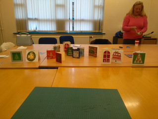 Creative card making at BRIC Blyth