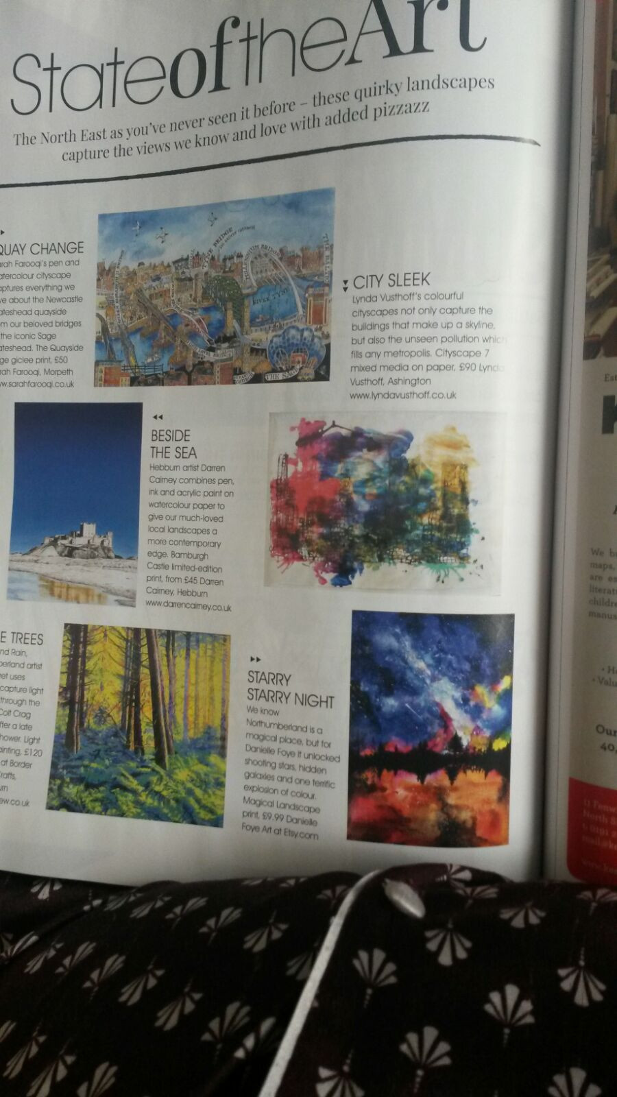 Can't believe one of my old pieces has been published in Living North Magazine!