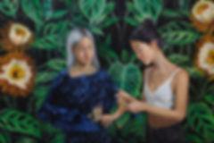 Andrea Barreda cereus painting
