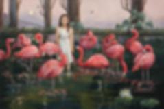 Painting art Andrea Barreda