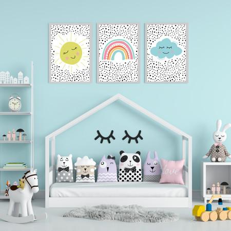 סט תמונות לחדר ילדים
