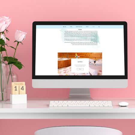 """עיצוב אתר """"פרובנס בעמק"""" בוויקס"""