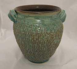 textured vertigris vessel