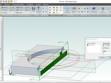 Training and Events for the Diary. Alibre Essentials and Advanced. 3D scan to CAD hands on one day E