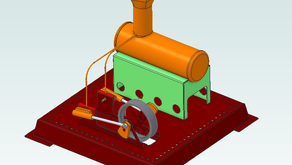 Learning 3D CAD for new starter - 'The hobbyist dream' by Tom Minto
