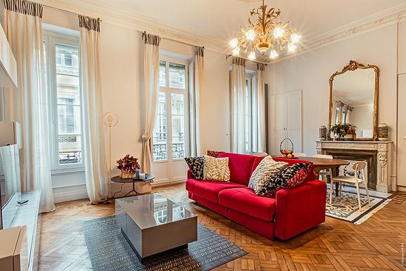 Appartement Meublé - 90m2 - Bordeaux Tourny