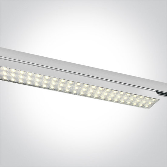 Светодиодный светильник для трёхфазной шины, 60Вт 3000K CRI90