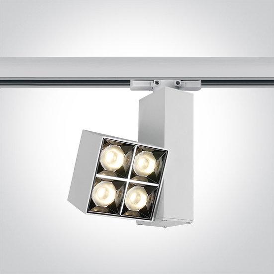Светодиодный светильник для трёхфазной шины, 15Вт 3000K
