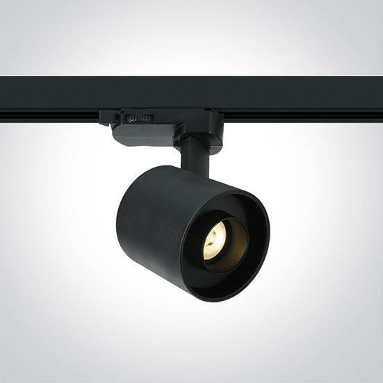 Светодиодный светильник для трёхфазной шины, 6Вт 3000K