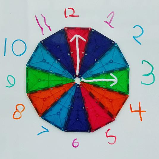 Magnatile Play Clock