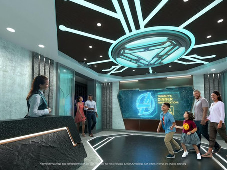 Marvel Dining Adventure Coming to the Disney Wish