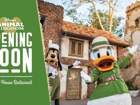 Booking for Tusker House to begin June 4th Dining Available beginning June 20!