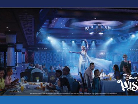 Disney's Wish to Feature Frozen Across the Ship