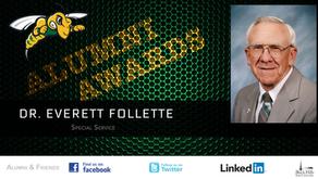 Dr. Everett Follette - Special Service Award