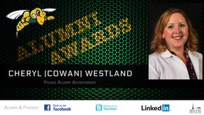 Cheryl (Cowan) Westland - Young Alumni Achievement