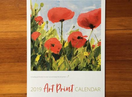 2019 Art Print Calendar