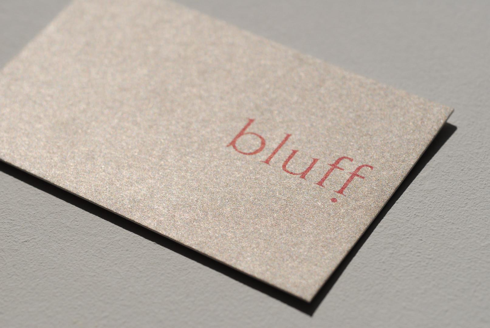 BLUFF INTERIOR & COLOUR DESIGN