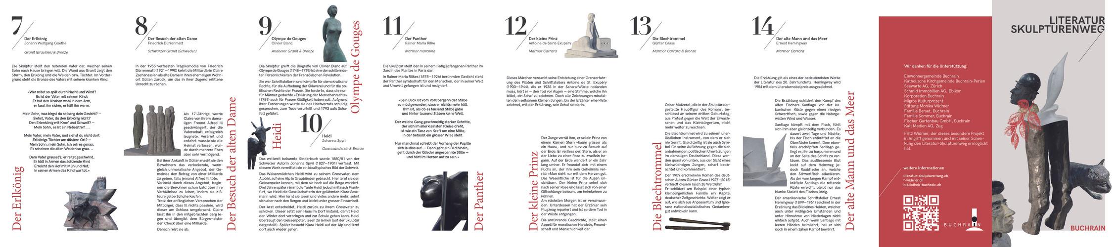 LITERATUR- & SKULTURENWEG BUCHRAIN