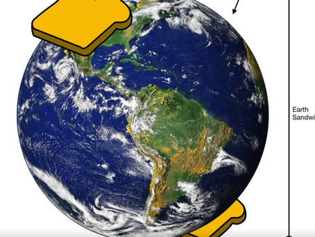 Global Collaboration Turns Earth Into Sandwich