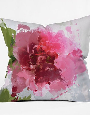 "18""x18"" square printed throw pillows"