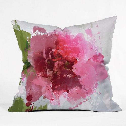 "18""x18"" square printed throw pillows"