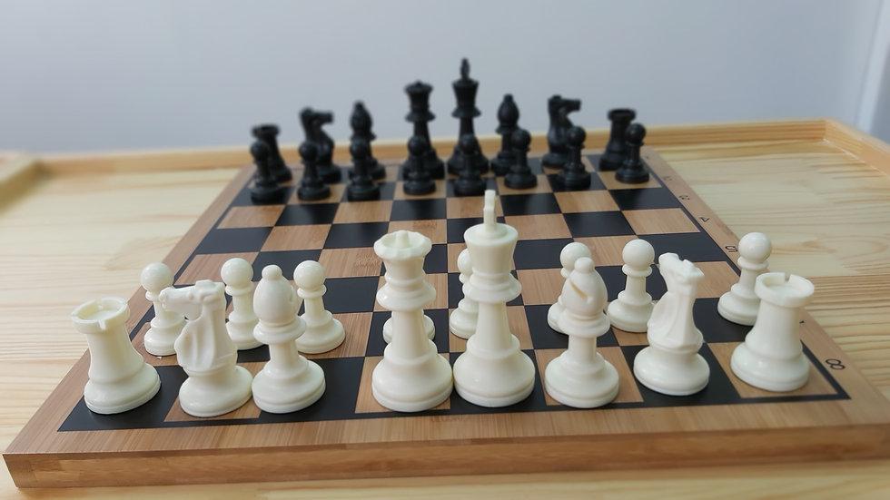 國際象棋套裝,配1.9cm厚板