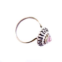 Byzantine ring - Rhodolite garnet