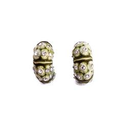 Moss Velvet earrings