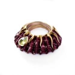 Purple Dragon Ring - Garnet