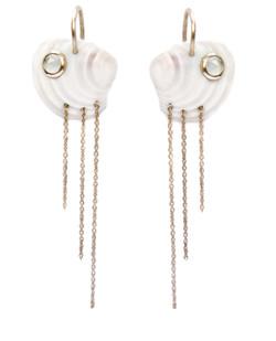 Aqua earrings - Aquamarines