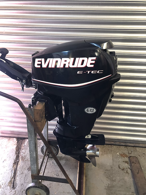 Evinrude ETEC 30HP Outboard Motor