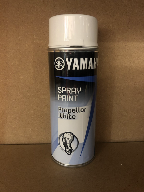 Yamaha Outboard Spray Paint - Propeller white
