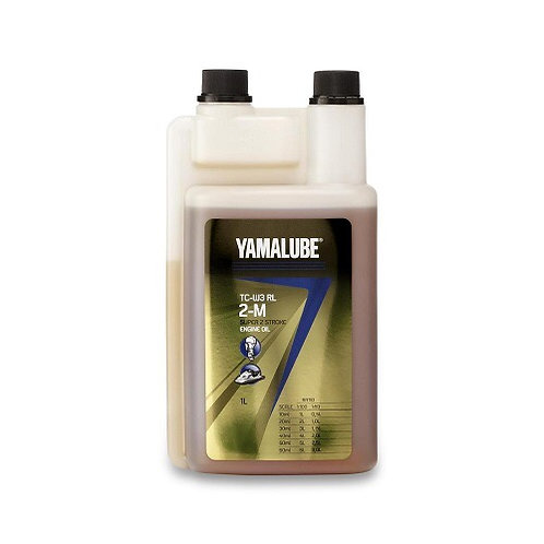 Yamaha Yamalube 2M TCW-3 Two Stroke Oil 1L