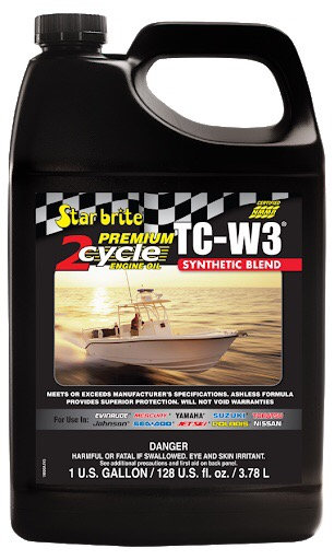 Premium 2-Cycle TCW3 Outboard Oil 4USQ