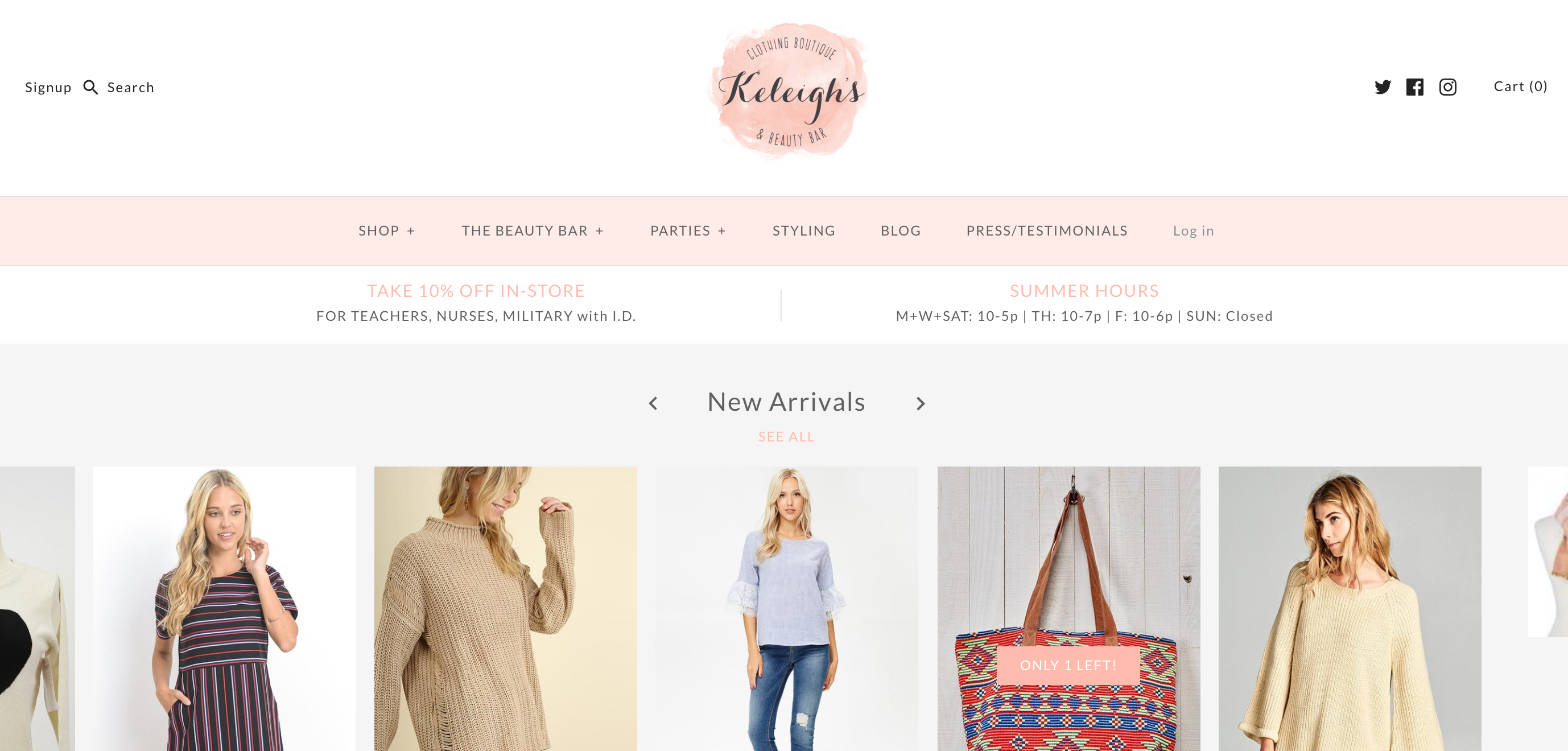 Keleigh's Boutique