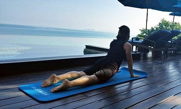 Villa Riva Yoga Class