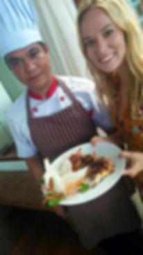 Villa Riva chef's cooking class