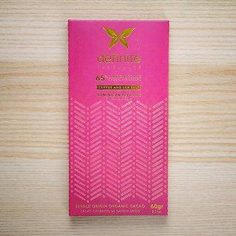 Finca Elvesia (65%) Coffee and Sea Salt