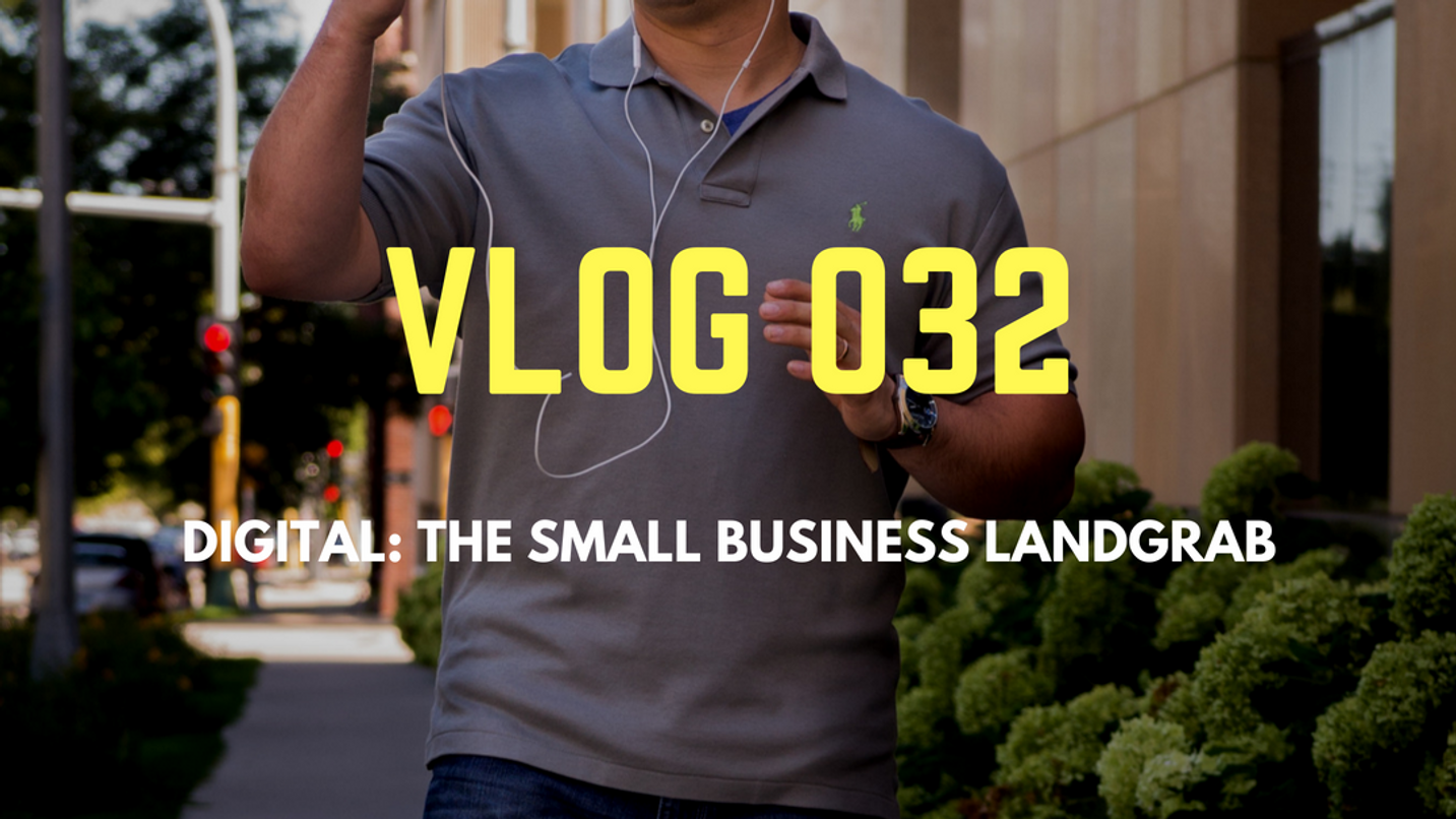 THE SMALL BUSINESS LAND GRAB YOU'RE STILL SITTING ON