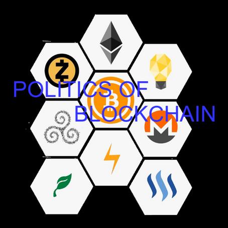 Politics of Blockchain?