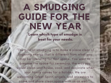 Sedona's Guide to Smudging for the New Year.